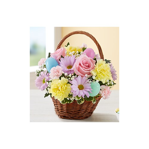 Easter-egg-basket-with-blooms