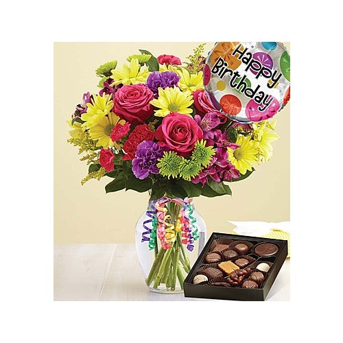 It's-Your-Day-Bouquet-Happy-Birthday-with-Chocolates-is-the-best-flower-arrangement
