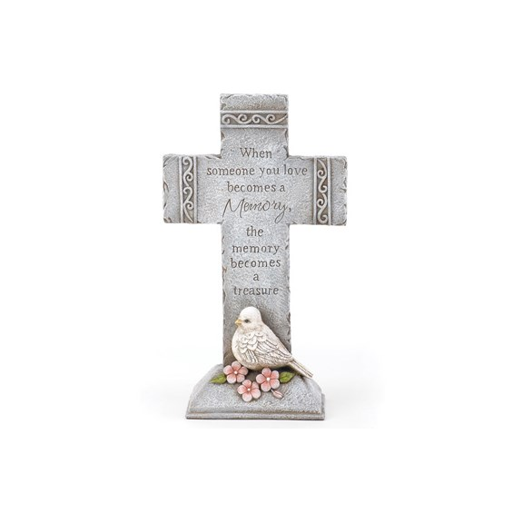 12-inch-sympathy-cross-with-dove-statue