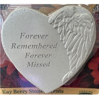 stepping stone heart forever remembered forever missed